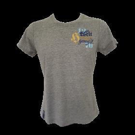 T-shirt Hirter Die Welt grau Damen