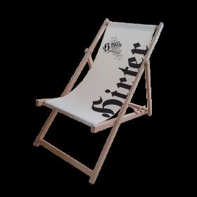 Hirter Liegestuhl aus Holz