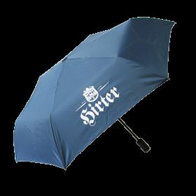 Regenschirm mit Flaschenöffner
