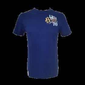 T-shirt Hirter Die Welt blau Herren